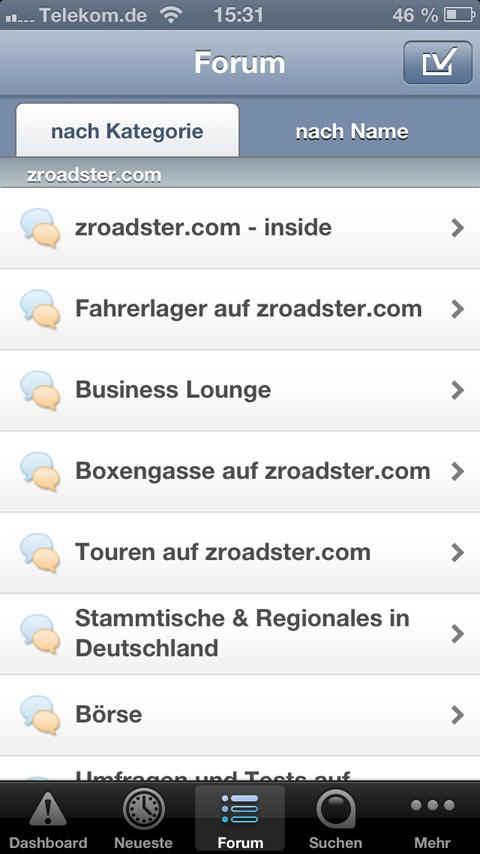 zroadster.com- screenshot