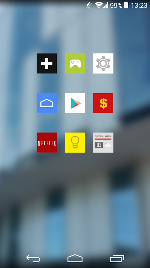 Square Icon Pack Trial - screenshot