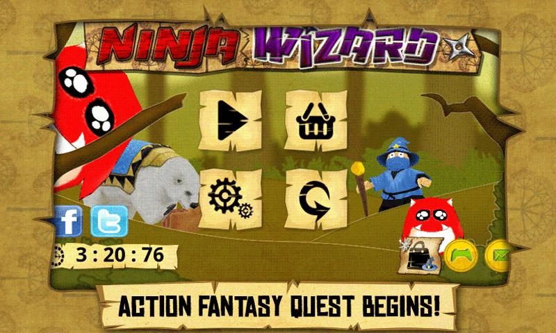 Ninja Wizard - screenshot
