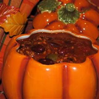 Chunky Pumpkin Chili