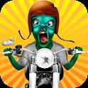 Zombie Crossy Bike Racing 2015 icon