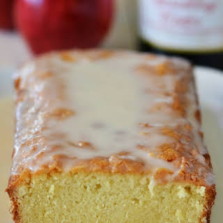 Sparkling Apple Cider Pound Cake.