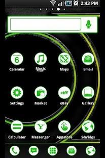 ADW Theme: Green Lantern