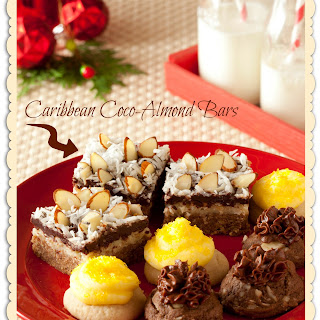 Caribbean Coco-Almond Bars