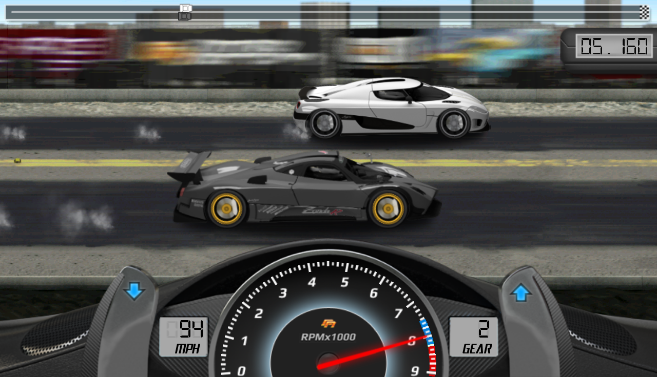 Drag Racing Classic: captura de pantalla