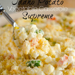 Idaho Potato Vegetable Casserole Supreme.