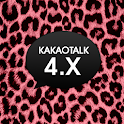 [xin] Pink Leopard Theme icon