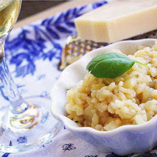 Easy Parmesan Risotto.