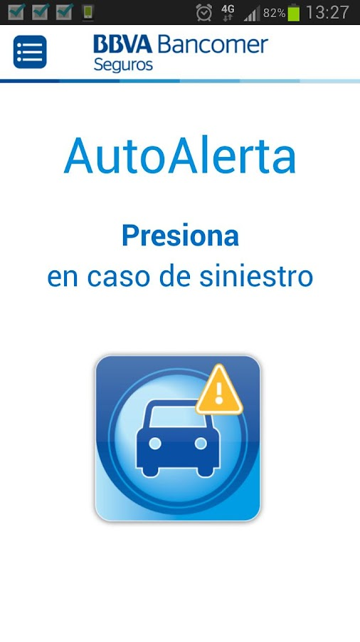 AutoAlerta- screenshot