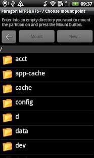 Paragon exFAT, NTFS & HFS+- screenshot thumbnail