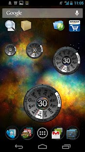 Year Clock Widget- screenshot thumbnail