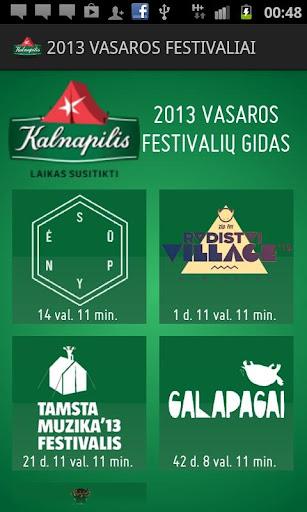 Kalnapilio Festivalių Gidas