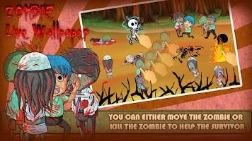 Screenshot of Zombie Live Wallpaper