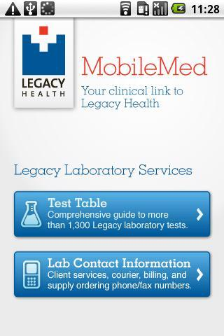 MobileMed- screenshot
