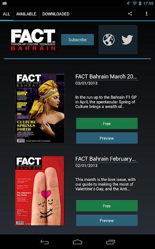 FACT Magazine Bahrain Edition