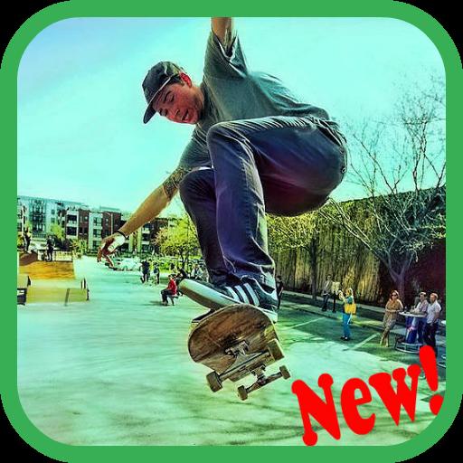Skater Game LOGO-APP點子