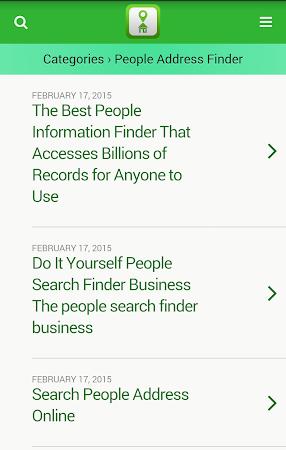 Address Finder Search 1.0 screenshot 10065