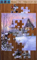 Screenshot of Christmas Jigsaw Puzzles