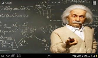 Screenshot of Einstein HD Live WallPaper