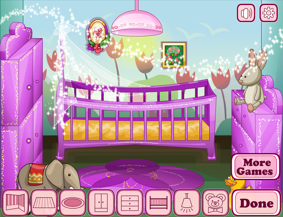 Baby house decor girl games android apps on google play Free home decorating games