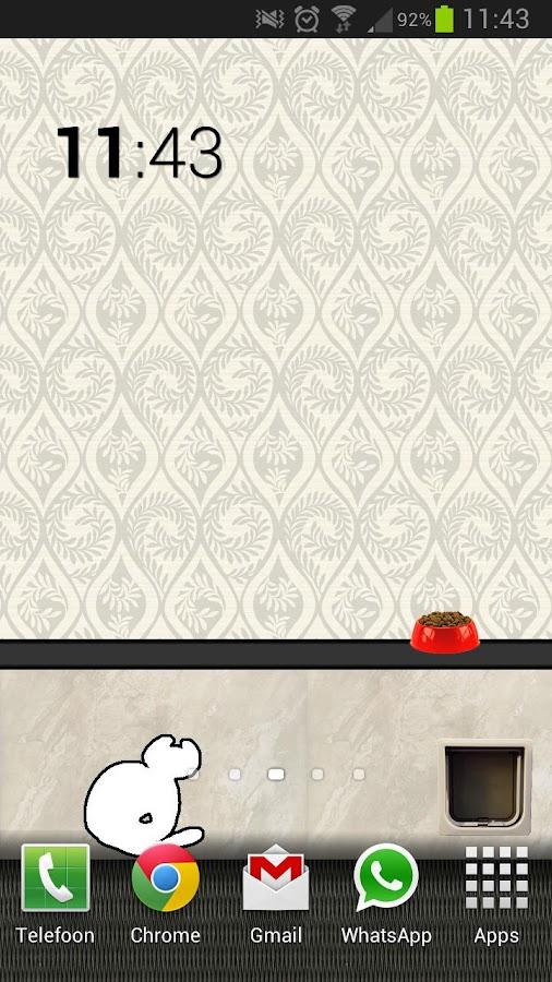 Animated Cat Live Wallpaper- screenshot