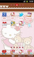 Screenshot of HELLO KITTY Theme8