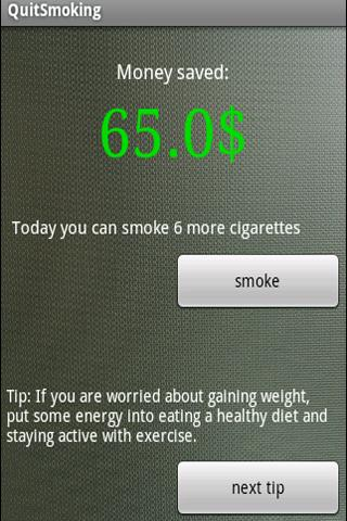 Quit Smoking - screenshot