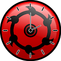 Sharingan Clock Widget icon