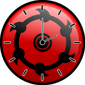 Sharingan Clock Widget