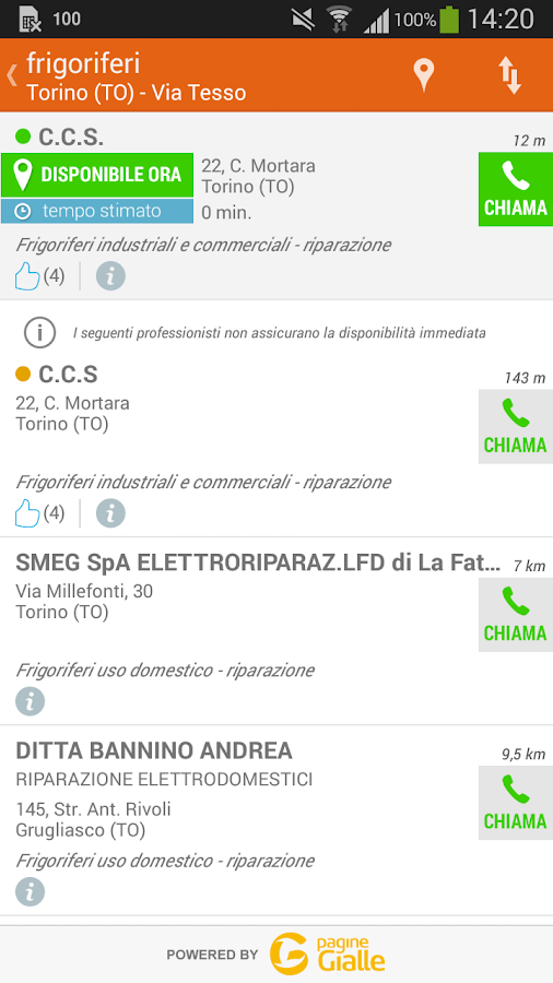 GialloEmergenza- screenshot