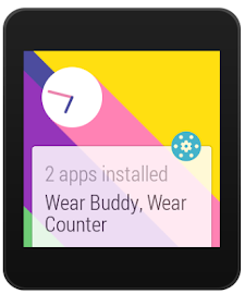 Wear Apps Tracker Screenshot 2