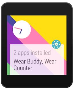 Wear Apps Tracker Screenshot 2