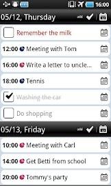 Total Agenda Screenshot 2