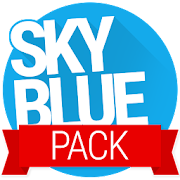 Sky Blue PACK - PA/CM11 Themes