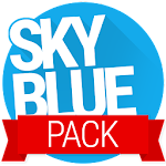 Sky Blue PACK - PA/CM11 Themes v1.4.1