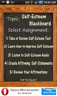 Self-Esteem Blackboard- screenshot thumbnail