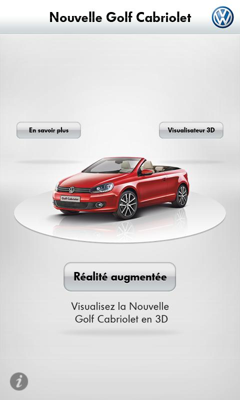 Virtual Golf Cabriolet - screenshot