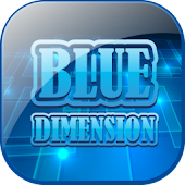 Blue Dimension Theme 'Phone
