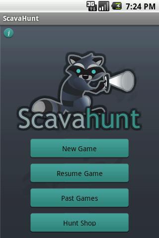 ScavaHunt Proof of Concept - screenshot