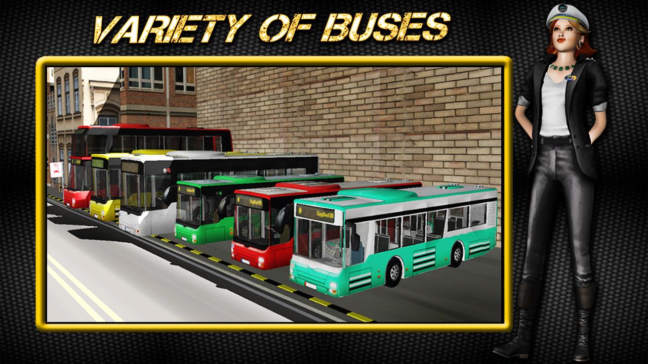 3d bus parking games