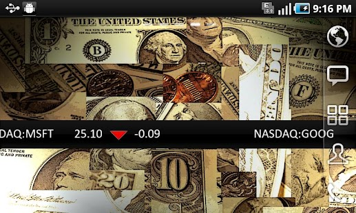 My Stock Ticker - screenshot thumbnail