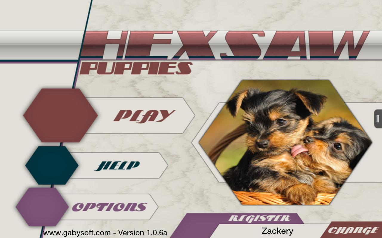 HexSaw - Puppies- screenshot