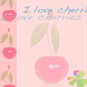 Theme Cherries for GO Launcher