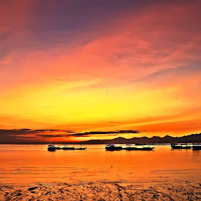 by Hargo Sulaksono - Landscapes Sunsets & Sunrises ( relax, tranquil, relaxing, tranquility )