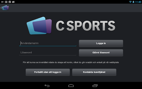 CSports - screenshot thumbnail