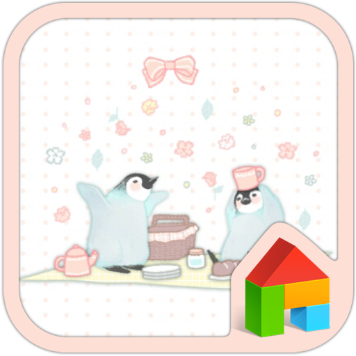 个人化のペンギンブラザーズ(遠足)ドドルランチャーのテーマ LOGO-記事Game