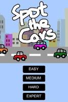 Screenshot of Spot the Cars Free