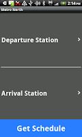 Screenshot of Metro North