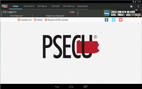 PSECU Mobile+- screenshot thumbnail