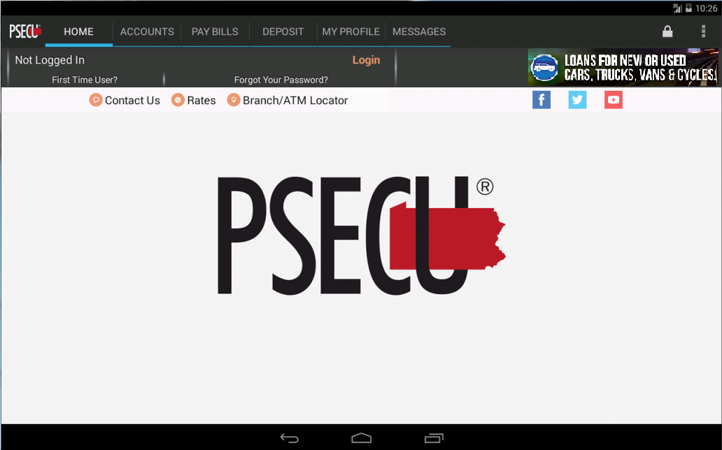 PSECU Mobile+- screenshot
